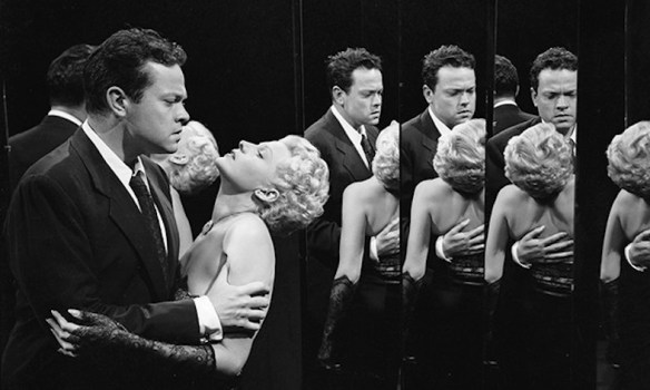 Orson Welles and Rita Hayworth in Lady from Shanghai