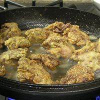Crispy Fried Chicken Livers with Cream Gravy