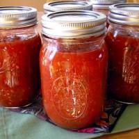 Homemade Canned Fire-Roasted Tomato Salsa