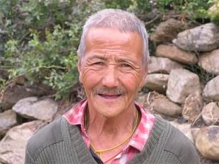 Cowherd, Paro, Bhutan