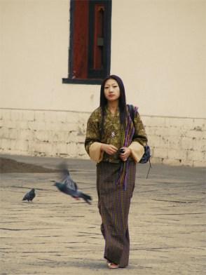 Bureaucrt, Royal Palace Thimphu, Bhutan