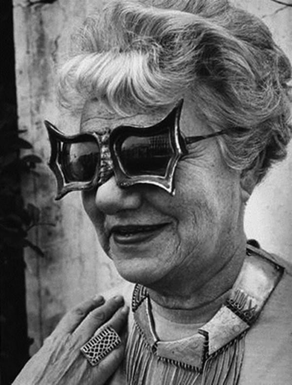 Peggy Guggenheim in Venice, late 1950s