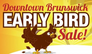 downtown brunswick early bird sale