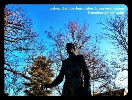 joshua chamberlain statue maine