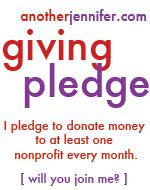 another jennifer giving pledge