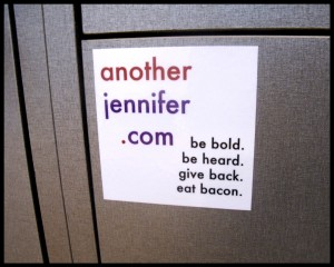 another jennifer vinyl stickers