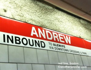 Wordless Wednesday: Red Line, Boston