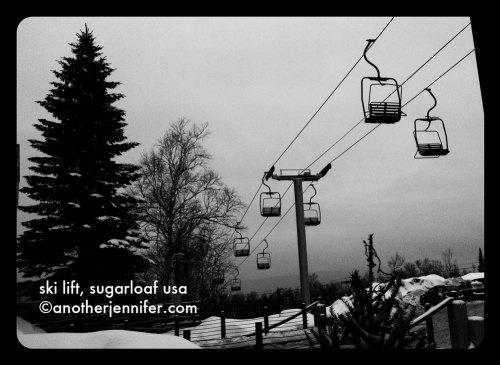 wordless wednesday: sugarloaf usa ski lift
