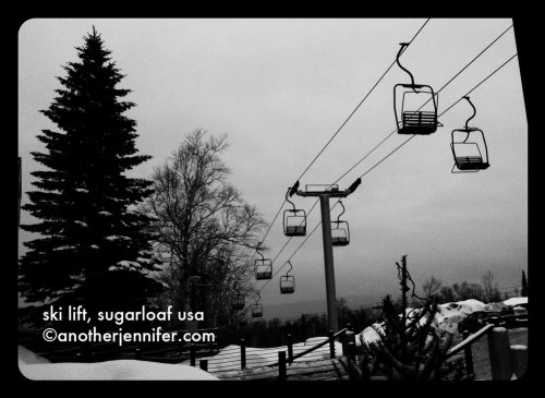 wordless wednesday: sugarloaf usa ski lift
