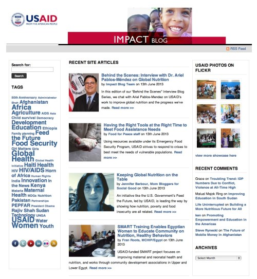 USAID Impact Blog