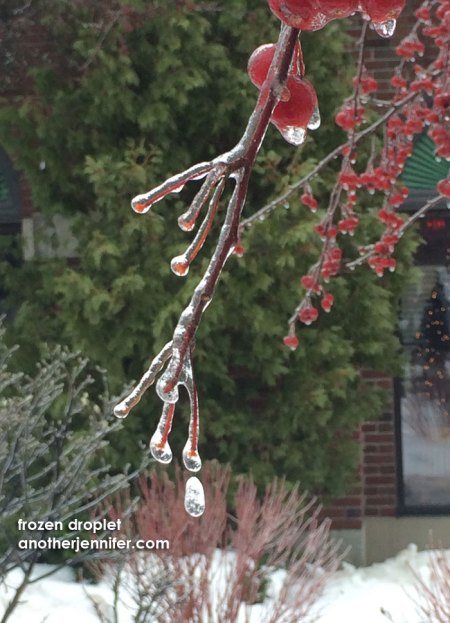 frozen droplet
