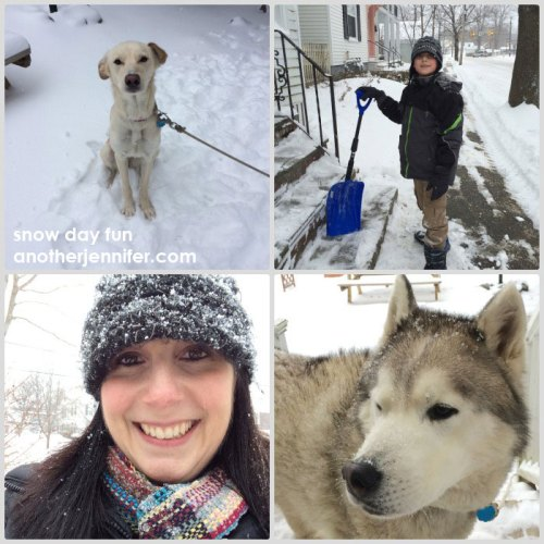 Wordless Wednesday (2.12.14): Snow Day Fun by Jennifer Barbour
