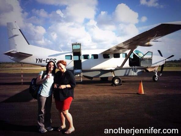 12-seater plane