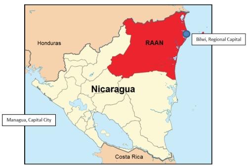 nicaraguamap