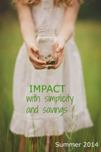 Read and Make an Impact with Simplicity and Savings #ImpactEzine