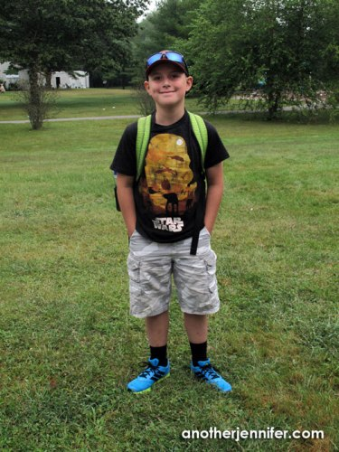Wordless Wednesday (9.3.14): First Day of Fourth Grade by Jennifer Iacovelli