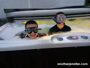 hot tub snorkeling