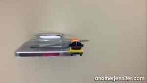 Wordless Wednesday: Floating Wienermobile in the Bathroom