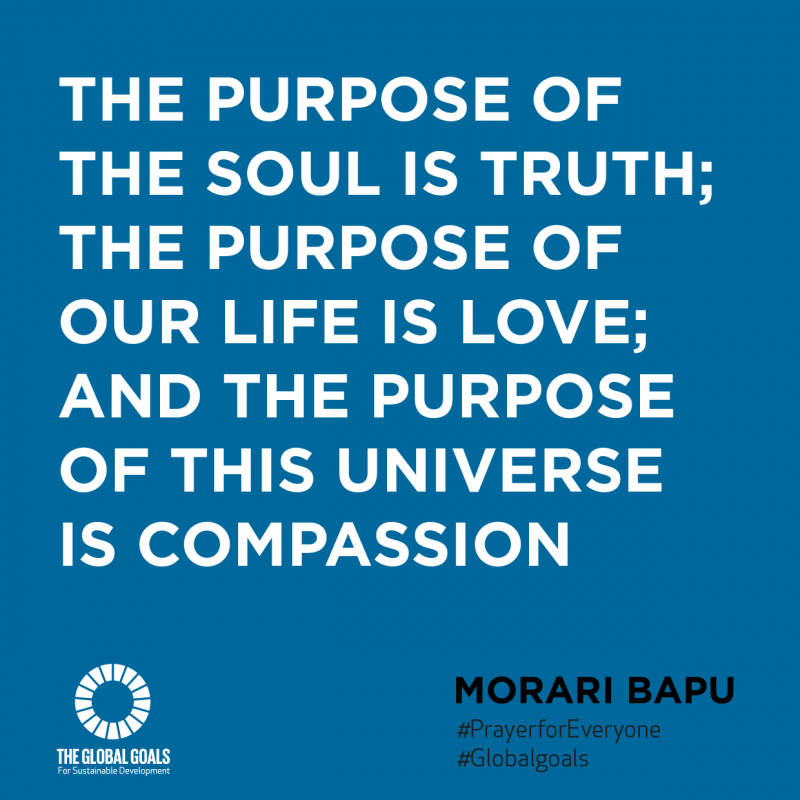 Prayerforeveryonequotes-Morari-Bapu