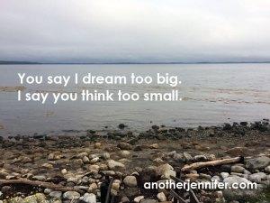 Wordless Wednesday: Dream Big