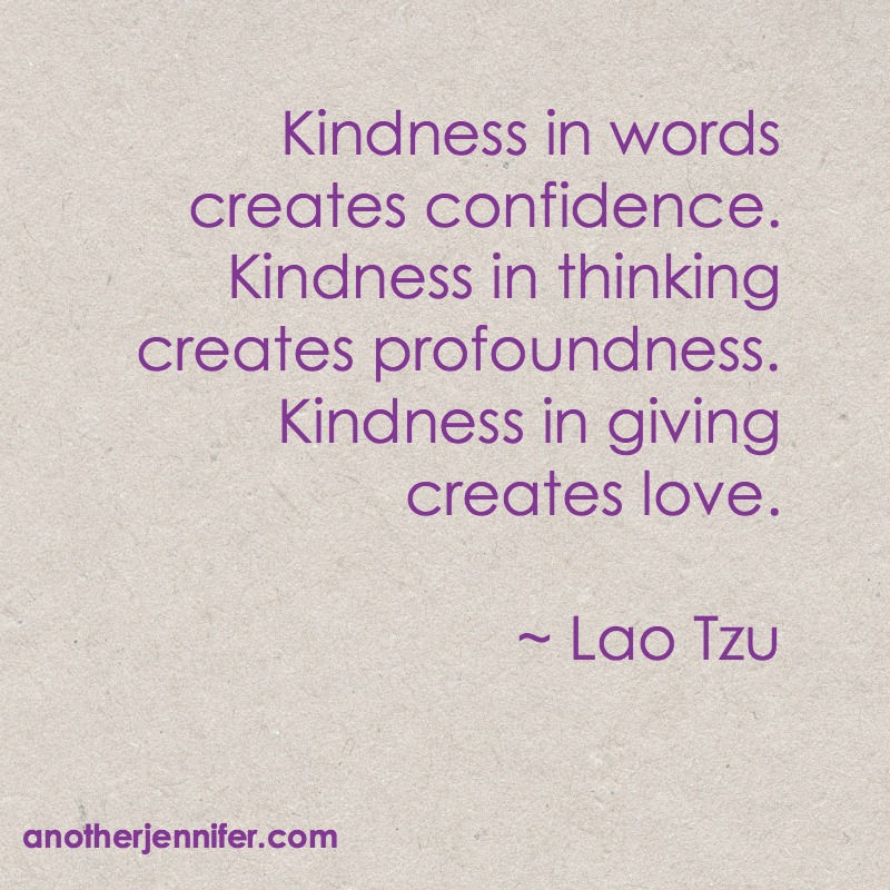 Wordless Wednesday (1.6.16): Kindness in Giving is Love