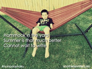 Hump Day Haiku: Hammock in the Yard