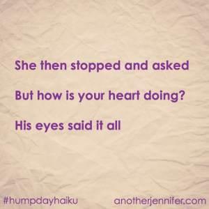 how is your heart doing haiku