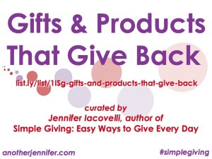 Philanthropy Friday: #BlackFriday Gifts That Give Back