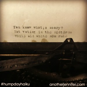 Hump Day Haiku: What's Scary