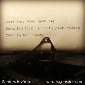 snow day haiku