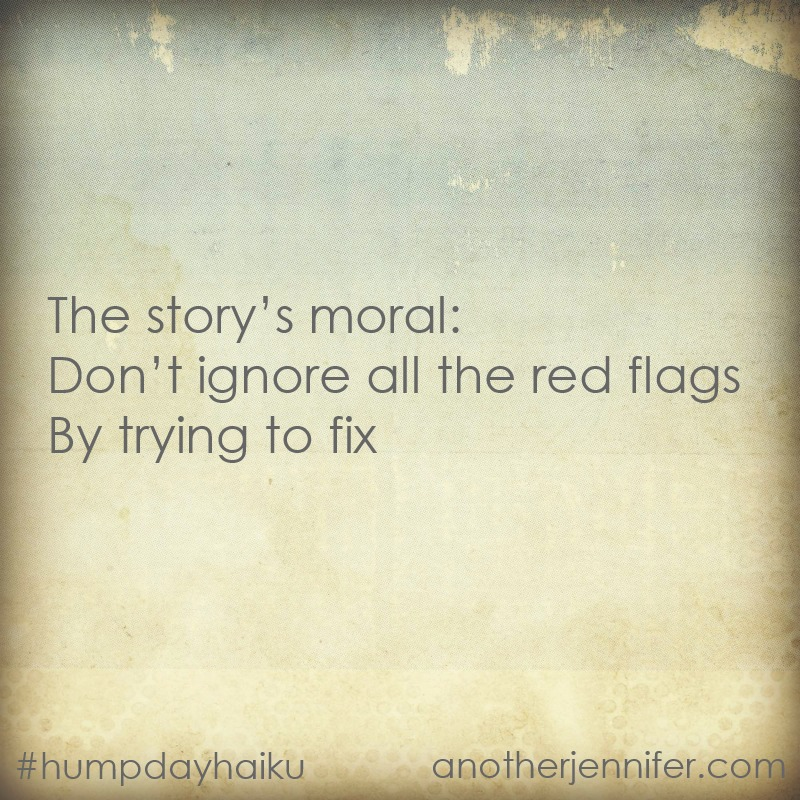 moral of the story haiku