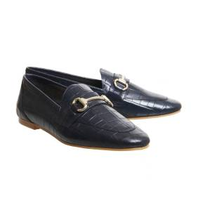 Office Destiny Loafers in Navy ($89)