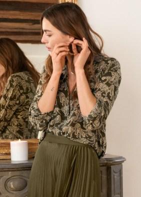 Leopard Print Silk Shirt ($119)