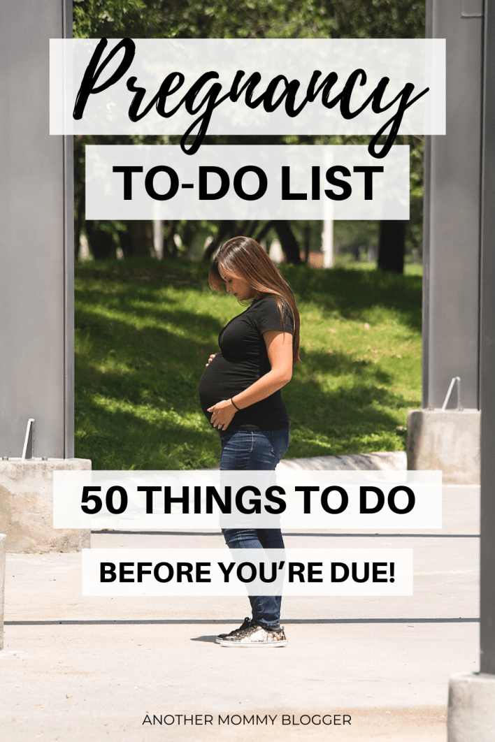 This is the ultimate pregnancy to do list. Everything you need to do while you're pregnant before your baby arrives #pregnancy