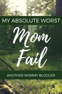 Mom fail