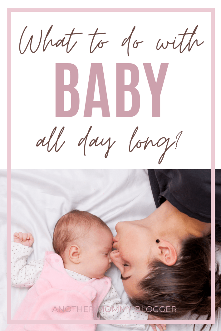 Don't know what to do with baby all day? Here's a few baby activities ideas and baby tips to get you through the day. #babytips