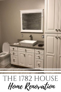 Grey scale bathroom decor