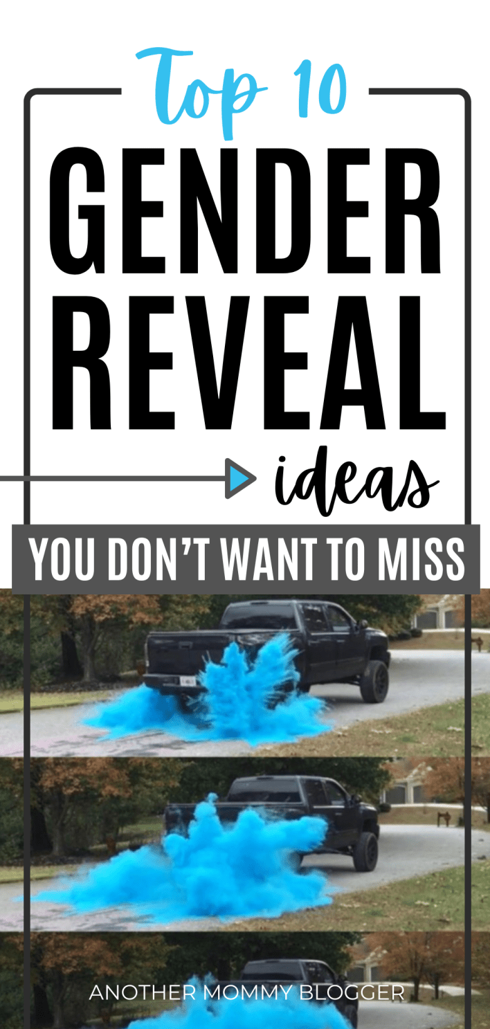 Looking for easy cute gender reveal ideas for your gender reveal party. You've found the ultimate list. #genderreveal