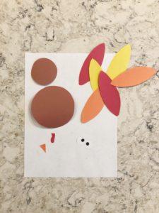 Easy Toddler Turkey Craft Activity