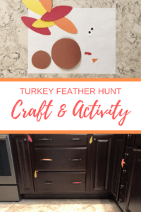 Turkey Feather Hunt Craft Activity
