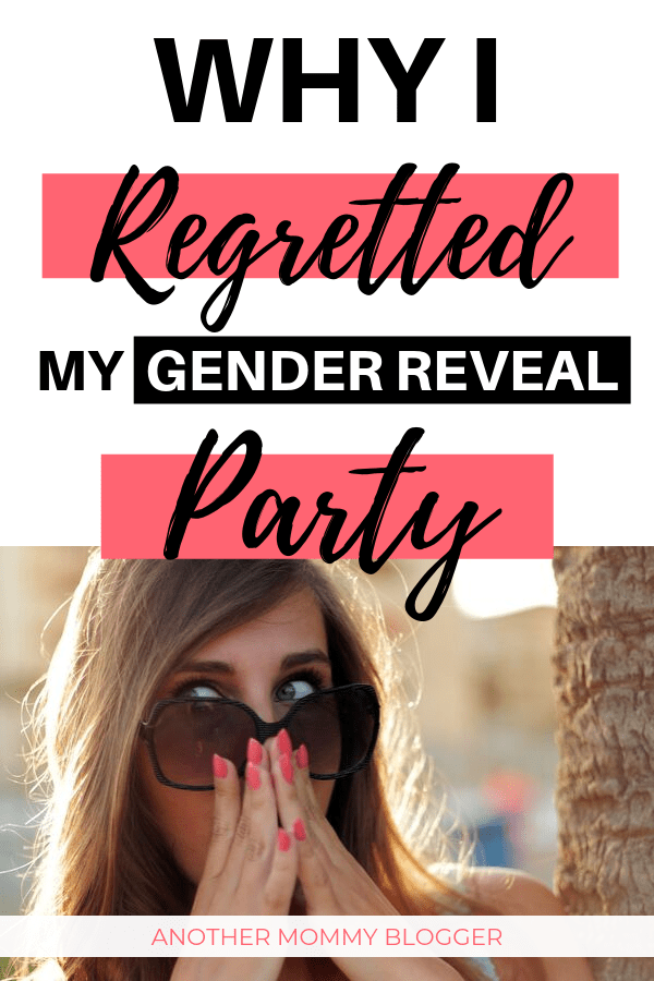 Why I Regretted Our Gender Reveal Party. This is the gender reveal party idea I didn't think of.