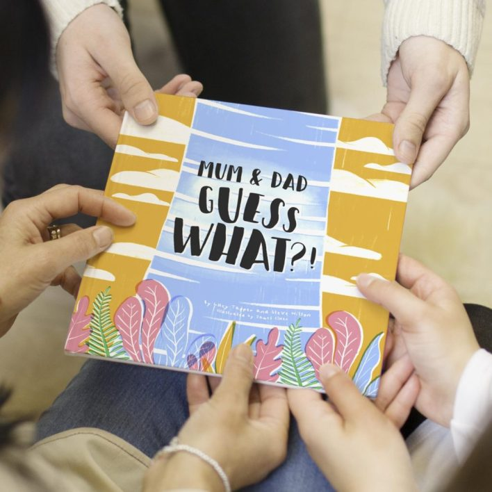 Pregnancy Reveal Book To Tell Your parents youre pregnant