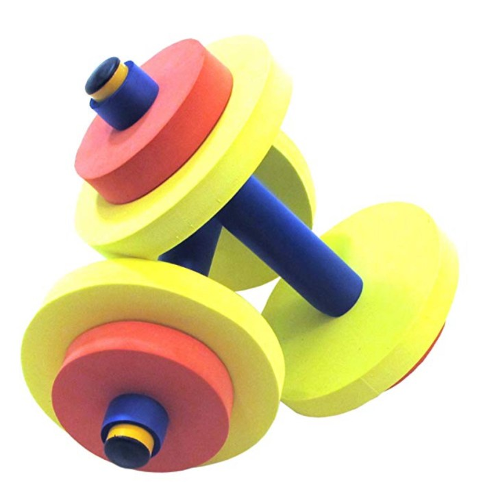 Kids play exercise equipment