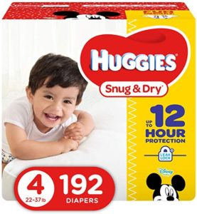 Big box of diapers
