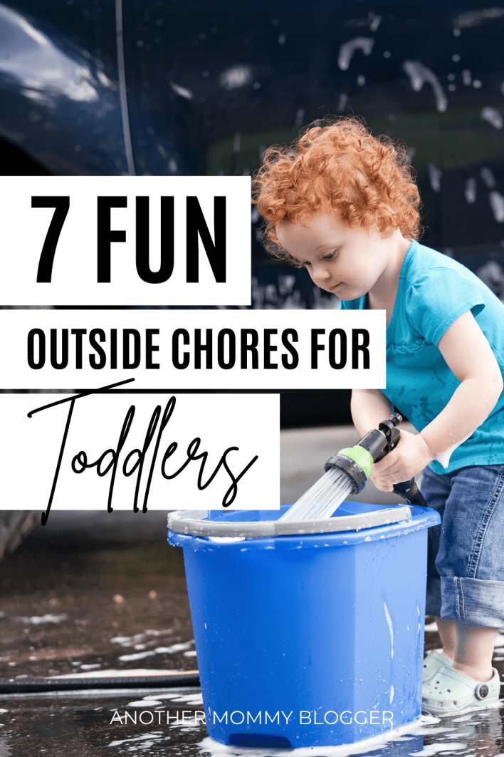 Fun things parents can do with their toddlers outside. Add these outdoor activities to your toddler chore chart.