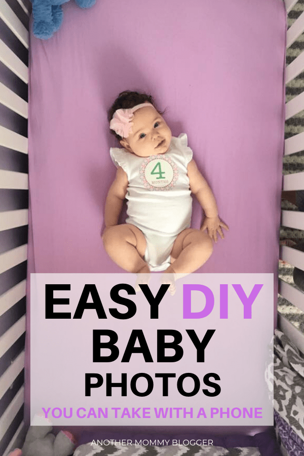 Easy DIY Baby Photos You Can Take With Your Phone