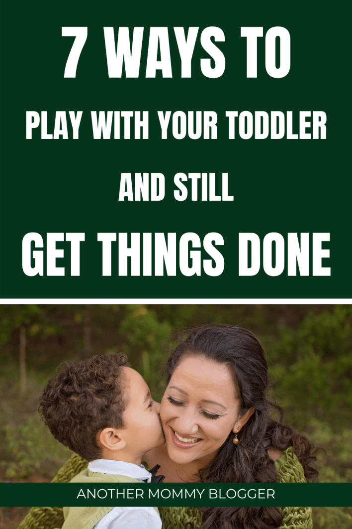 Here are a few toddler tips for parents to play with there kids and still get things done. #toddlers #kidsactivities #parenting