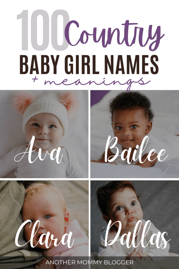 Southern girl names sound rustic and oh so sweet. You'll love these country girl names on this baby girl names list.