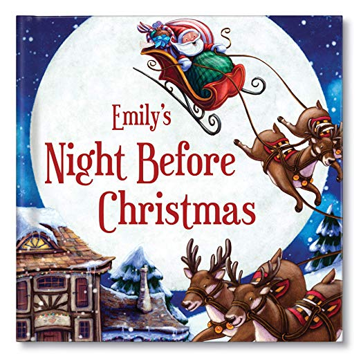 Personalized Baby's First Christmas Keepsake Book