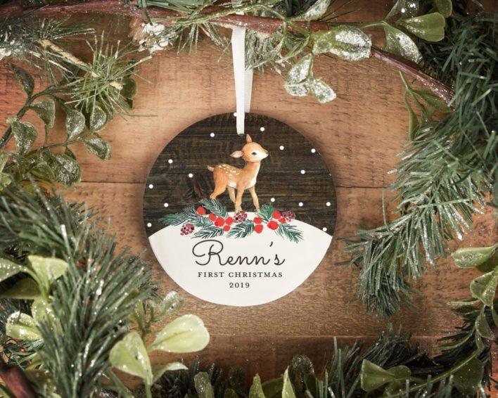 Baby's First Christmas Keepsake Ornament